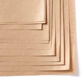 Pakavimo popierius linijuotas Kraft lapais
