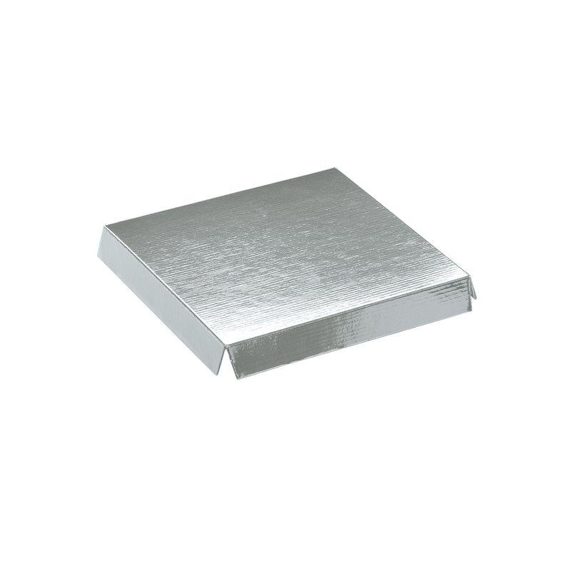Įdėklas aukštas sidabrinis skaidrioms dėžutėms įvairių dydžių