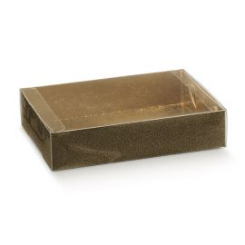 Skaidri dėžutė Astuccio su įdėklu ruda