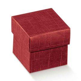 Dovanų dėžutė bordo