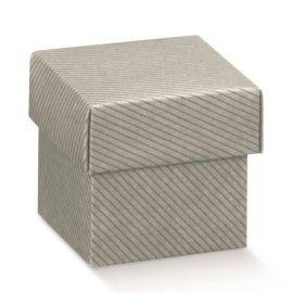 Dovanų dėžutė pilka