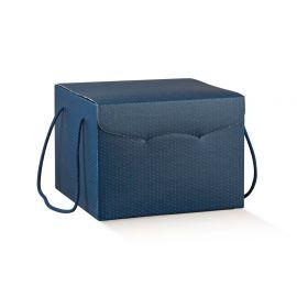 Dėžutė su medžiaginėmis rankenėlėmis