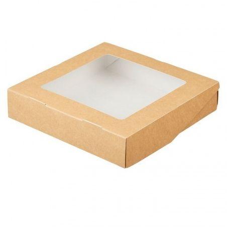 Dėžutė Eco Tabox 1555 su skaidriu langeliu