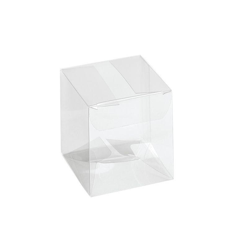 Skaidri kvadratinė dėžutė Scatto